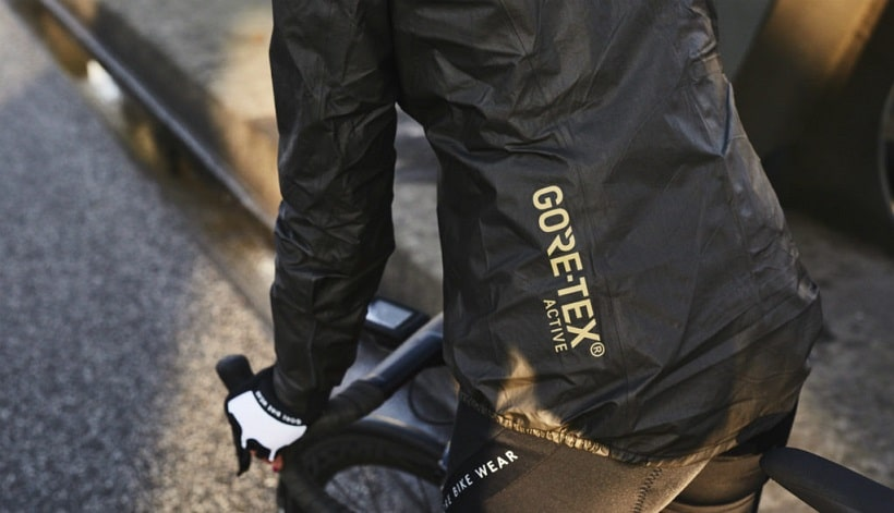 breathable goretex while biking