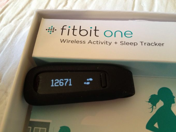 FitBit one sleep tracker