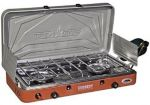 Camp Chef MS2HP Mountain Camping Series Outdoor Cooking 2 Burner Hiigh Pressure Camp Stove