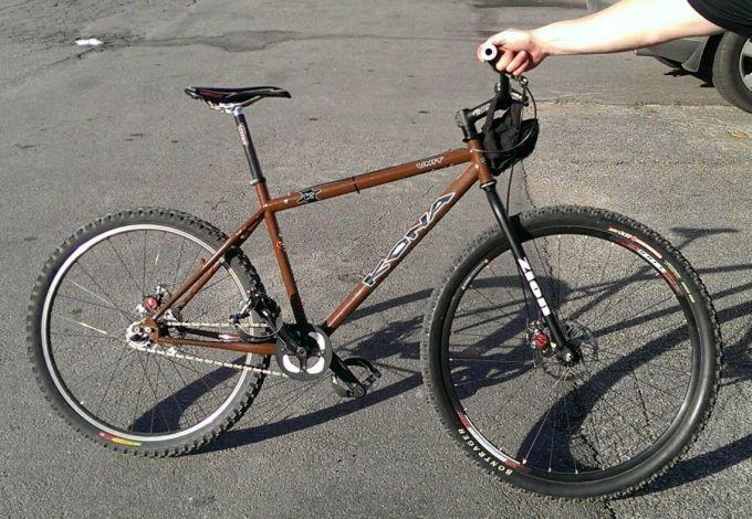 HYBRID single speed bike