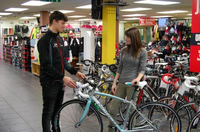budge for women's bike