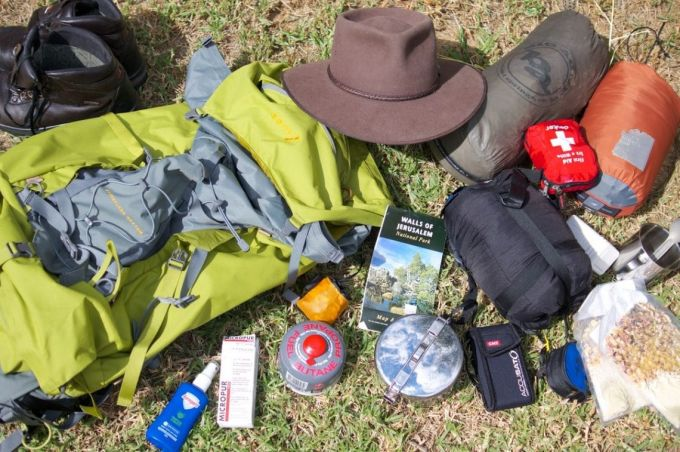 things to bring for hiking
