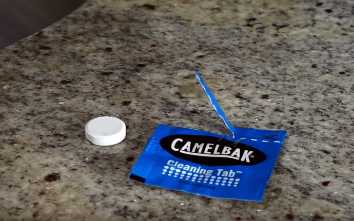 cleaning tablet for camelbak