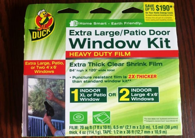 Duck Brand Window Shrink Film