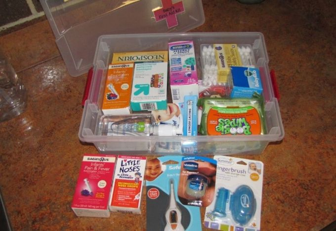 first aid kit for infants