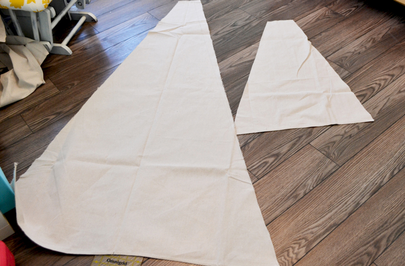 making a tent
