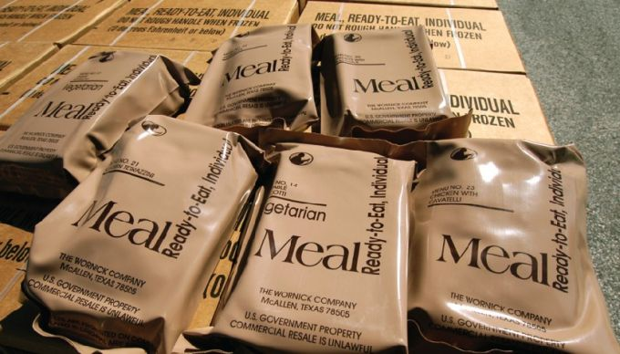 mre - meals ready to eat