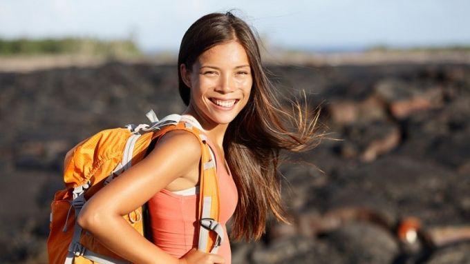 hiker on adventure