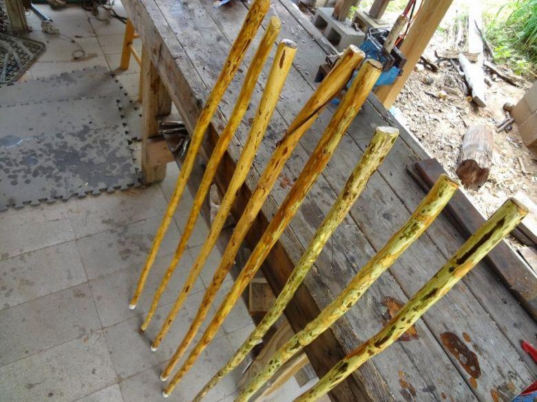 prepare stick for oiling
