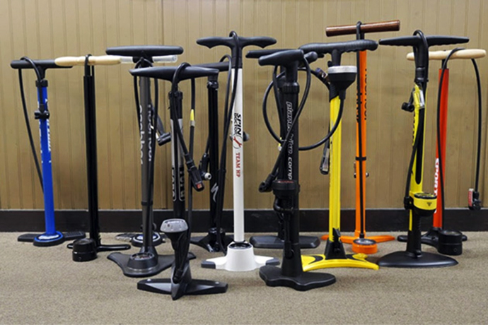 bike pumps from different materials