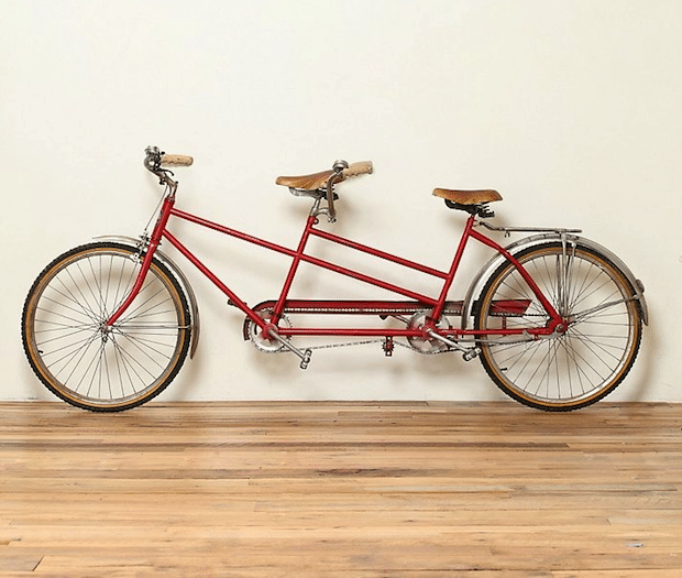 single speed tandem bike