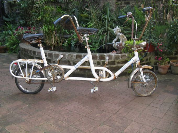 style of tandem bikes