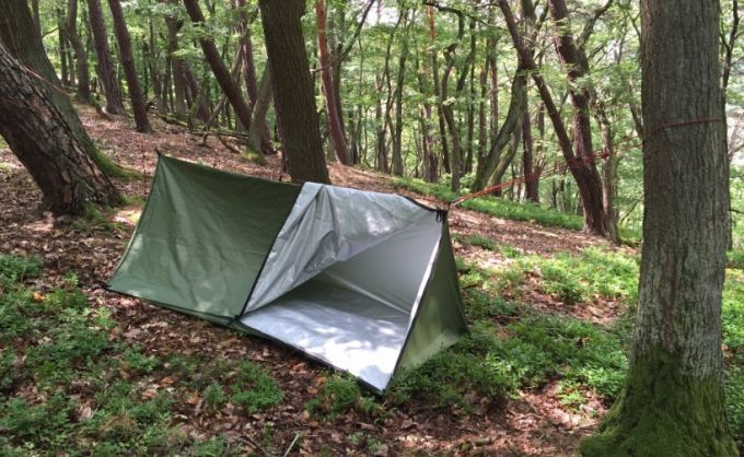 tarp emergency shelter for hikers
