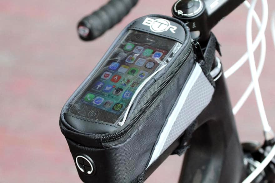 Waterproof bike phone mount
