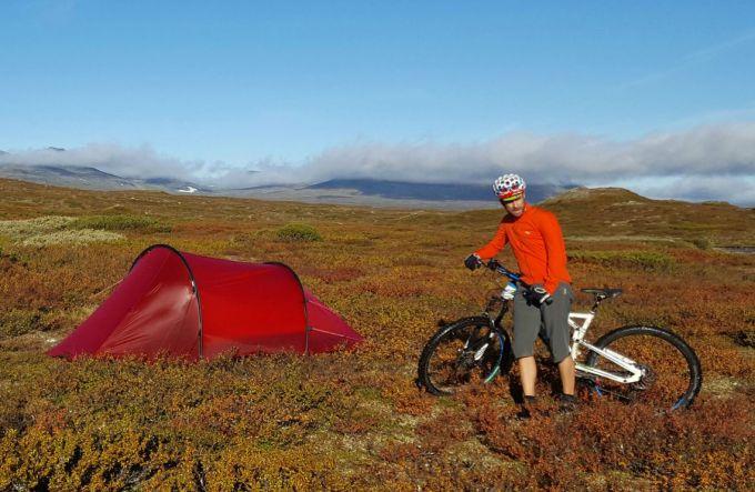 3-season camping tent