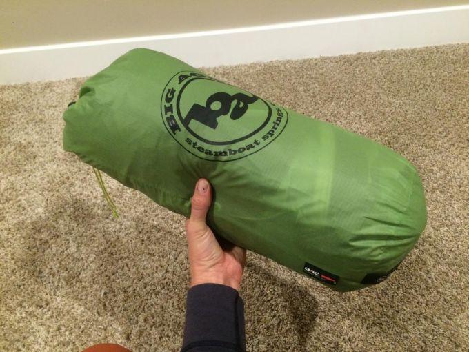 Big Agnes Pitchpine SL 45 packing
