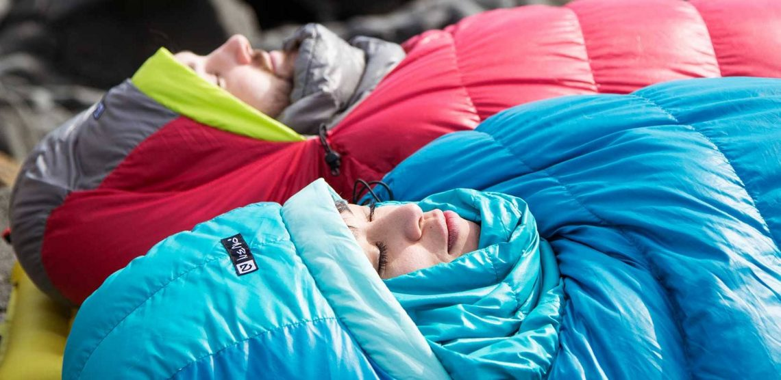 Ravean's heated sleeping bag allows you to sleep naked when under the stars