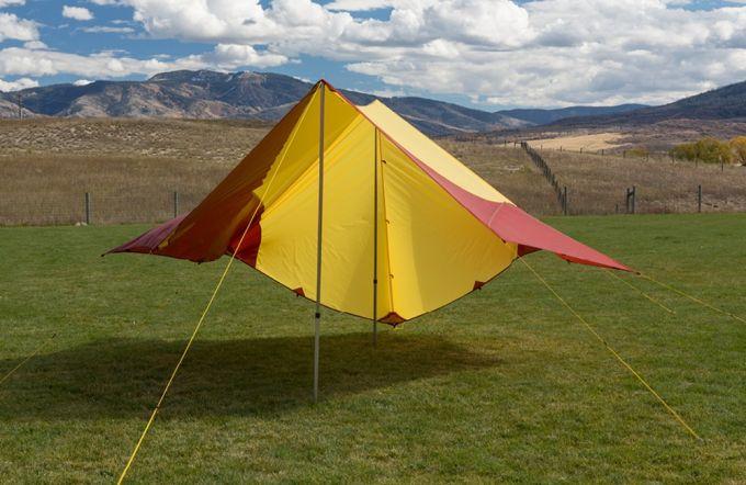 Dining fly tarp shelter