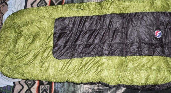 Insulation of big agnes sleeping bag