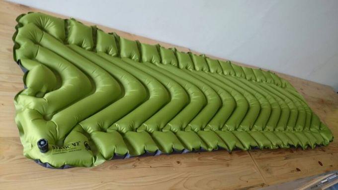 Klymit static V2 Sleeping pad comfort