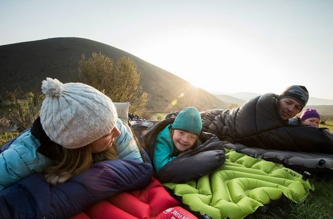 Klymit static V2 Sleeping pad warmth