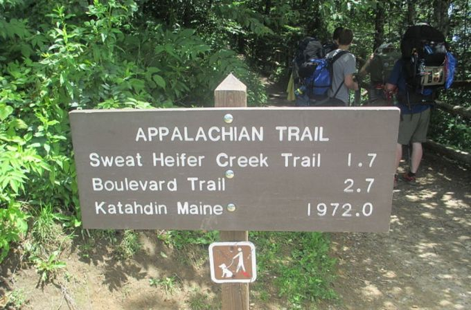 Appalachian Trail in Numbers