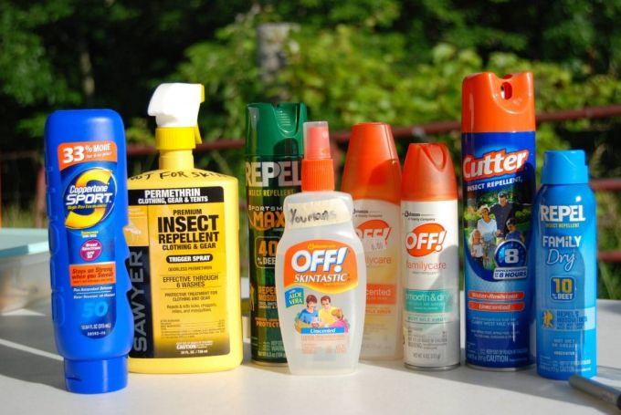 Sunscreen With Bug Spray