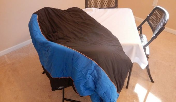 air drying sleeping bag