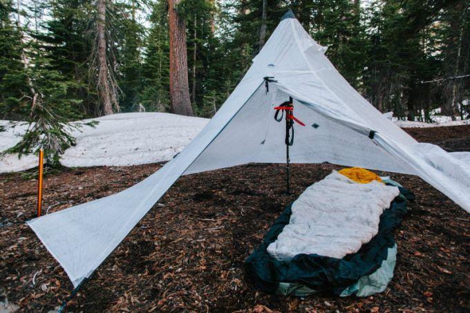 best tarp tent setup