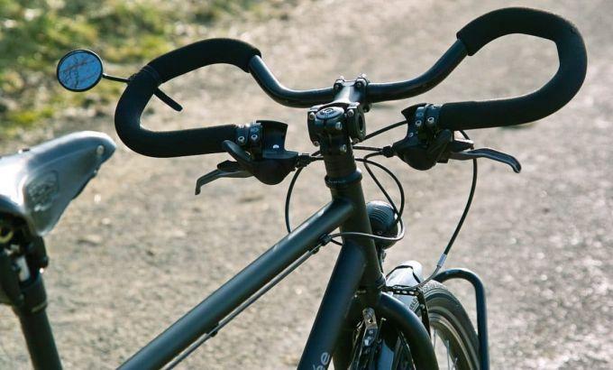 bullhorn handlebars tandem bike