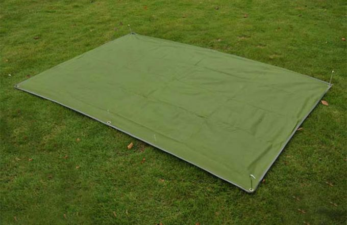 canvas tarp footprint