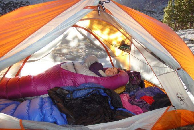 comfort of big agnes copper spur tent