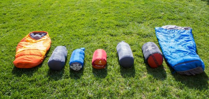 compressibility of sleeping bag