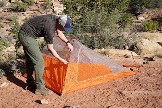 design of the Big Agnes Copper Spur Backpacking Tent