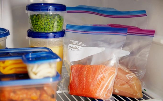 differently packed food