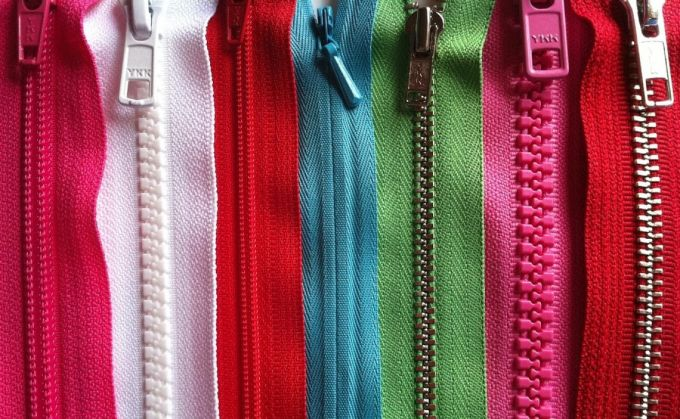 different types of zipper