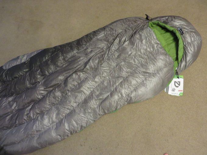 dimension of nemo sleeping bag