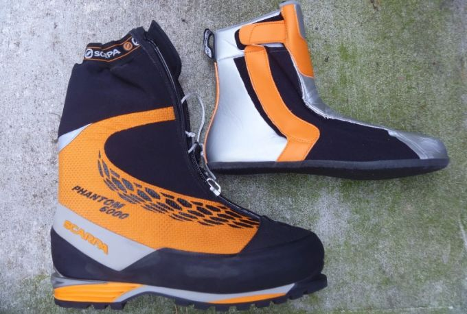 mountaineering double boots