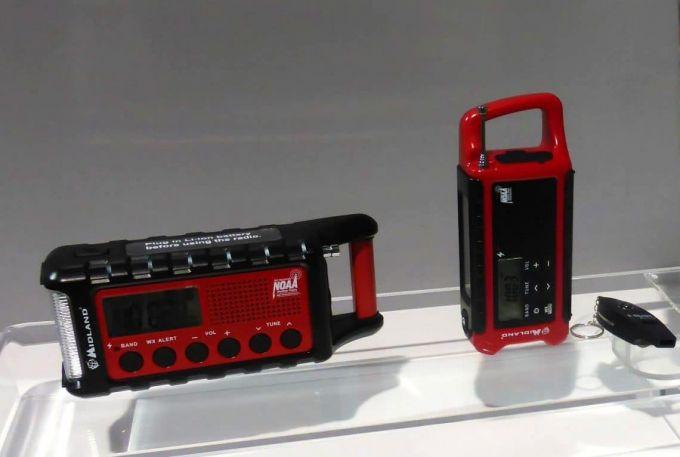 different solar radios