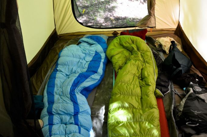 Choosing a Down Sleeping Bag