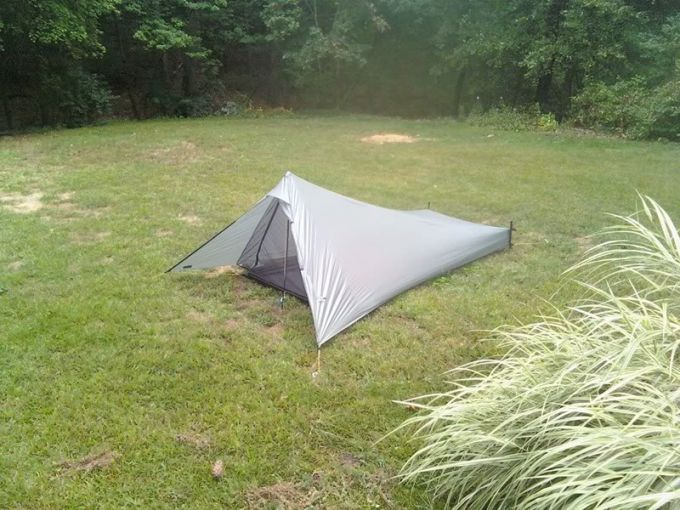 perfect location for tarp tent