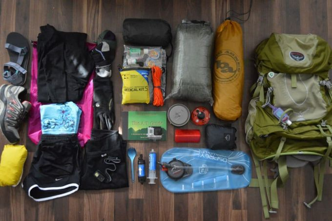 prepare for Appalachian trail