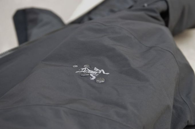 jacket made of ptfe