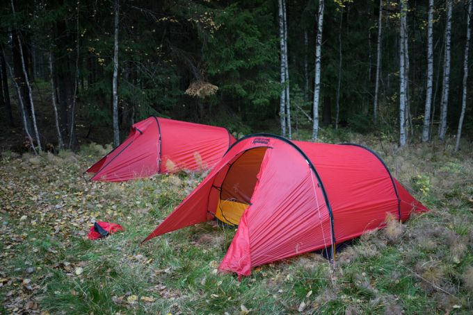 single-door tent hilleberg tent