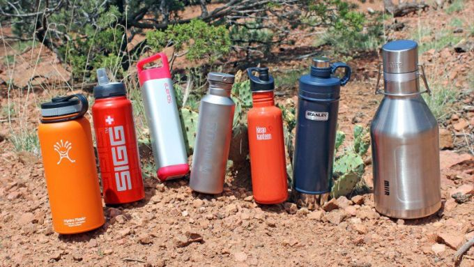 size of bike water bottles