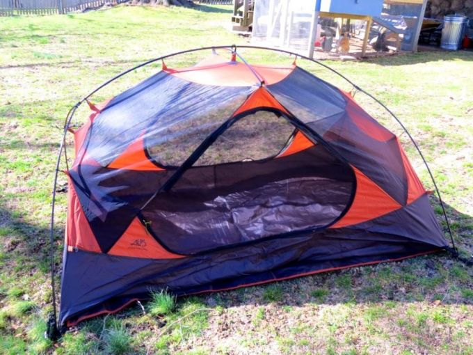 space and livability of alps tent
