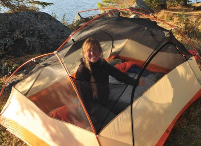 ventilation of big agnes tent
