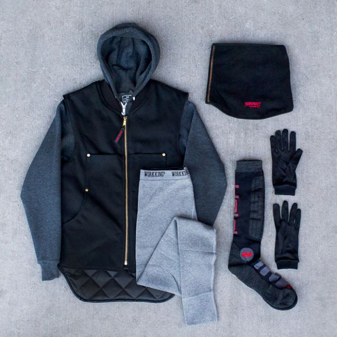 what's in cold weather clothing