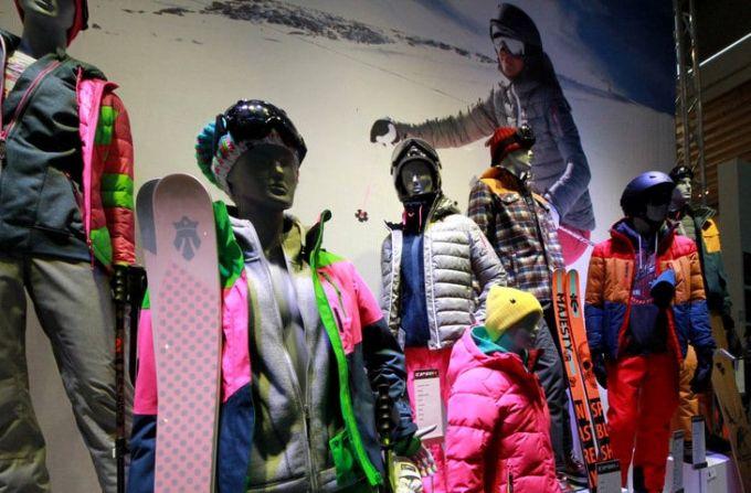 winter ski jackets in store