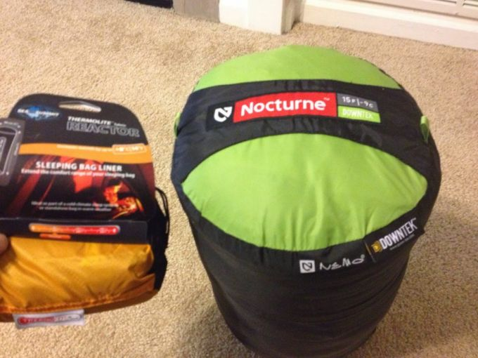 NEMO Nocturne Sleeping Bag packaging